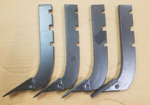 Lot Of 4 replacement 3 slot Howse Box Blade Shank 16 Part B 710 n Bsxeb48