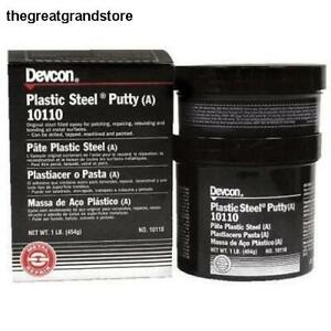 Devcon 10110 Plastic Steel Epoxy Putty A 1 Lbs Bottle Strength Cure Time Temp