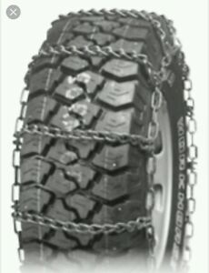New Usa Wide Base Truck Tire Snow Chains 39 5x18 15 39 5x15 16 39 5x18 16 5 9 5