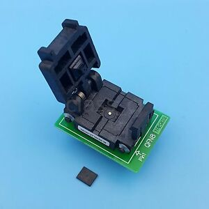 Qfn8 Mlf8 Mlp8 To Dip8 Pitch 1 27mm 6x5mm Ic Programmer Adapter Test Socket