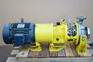 Blackmer 10 Hp 230 460 Volt 1x2 10 Stainless Centrifugal Pump Model Fr a P 135 1