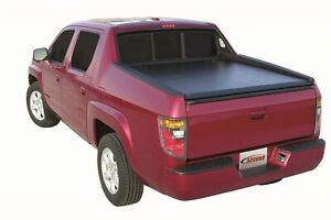 Access Literider Roll Up Black Tonneau Cover Fits 2017 18 Honda Ridgeline 5 Bed