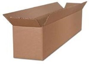 24 X 8 X 8 Corrugated Cardboard Boxes 50 lot Shipping Packaging Box