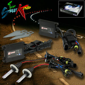 9005 Hid Kit 12000k 12k Purple Light lights Plug Play Digital Slim Ballasts