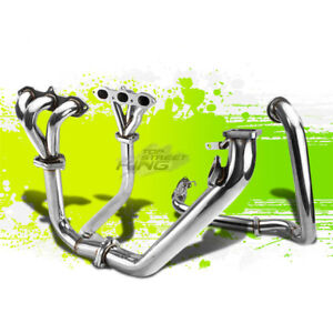For 98 02 Accord V6 J30 Cg T3 Racing Performance Turbo Manifold downpipe Exhaust