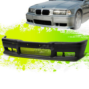 Paintable M3 Style Front Bumper Body Kit Grille Insert For 92 98 E36 3 Series