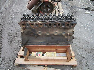 Ford 300 Industrial Gas Engine Core Unit Vermeer Chipper Grinder Blower