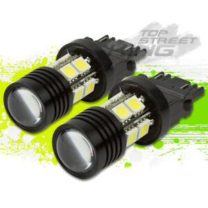 Super Bright 3157 Cree Led Light Bulb White 7w For Break fog turn Signal X2