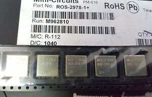 2x Mini circuits Ros 2978 1 Vco 2848 2978 Mhz 5v Ck605 Smt See Picture