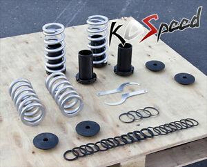 For Civic Integra Del Sol 0 3 Scale Height Adjustable Coilover Spring Silver