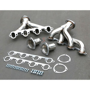 Hugger Stainless Steel Header Exhaust Manifold For Ford Fe Series Big Block V8