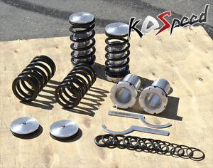 For Civic Integra Crx Del Sol 0 3 Scale Height Adjustable Coilover Spring Black