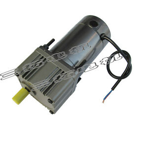 1pcs Dc12v 12a 80w Brush Gear Reducer Motor Adjustable Speed Large Torque