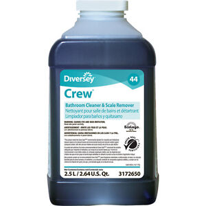 2 Pack Case Of Diversey Crew 44 Bathroom Scale Remover 3172650 2 X 2 5l Bottles