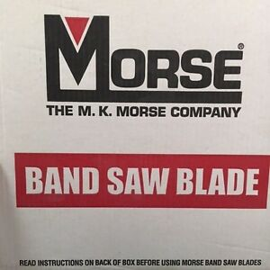 Morse Company Quick Silver Hb Wood Mill Carbon Band Saw Blades Bulk Pack 6 Ct