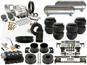 Complete Air Ride Suspension Kit 1964 1969 Lincoln Continental 3 8 Level 3