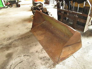New Holland L783 Skid Steer Bucket Nice Old Style L785 L555 L553 Loader