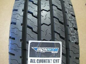 2 New Lt 245 75r17 Ironman All Country Cht Tires 245 75 17 2457517 75r 10 Ply