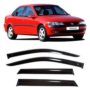 For Opel Vectra B Sd 1996 2002 Side Window Visors Sun Rain Guard Vent Deflectors