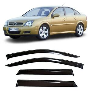 For Opel Vectra C Hb 2002 2008 Side Window Visors Sun Rain Guard Vent Deflectors