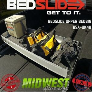 Bedslide 48 x16 Upper Bedbin For Use With Guardrails And Traxrails