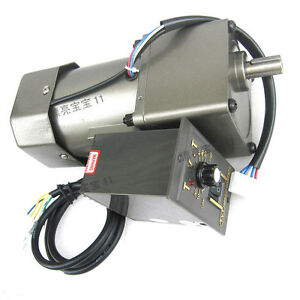 1pcs Ac220v 120w Gear Motor Adjustable Speed With Assembly Line Belt Tansmission