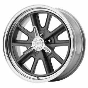 American Racing Vn427 Shelby Cobra 17x8 5x114 30 Et0 Gray Polished Qty Of 1