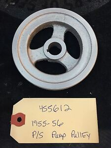 1955 1956 Packard Power Steering Pump Pulley 455612 Shipping Available