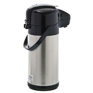Update Nvsl 25bk Sup r air Stainless Steel Airpot 2 5 Liter