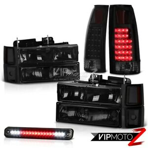 94 98 Chevy Silverado Smoked Roof Cargo Lamp Tail Lamps Headlamps Bumper Corner