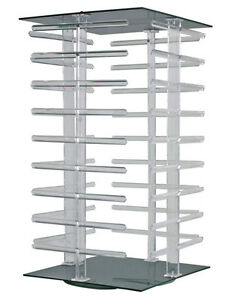 Earring Jewelry Display Rack 36 bar Rotating Carded Countertop Store Fixture New