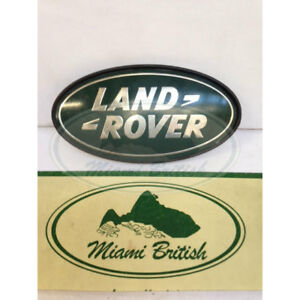 Land Rover Rear Logo Emblem Decal Badge Range Rr Sport 06 09 Dah100680 Used