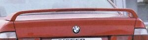Bmw E34 5 Series 1988 1996 Oem Rieger Brand Rear Spoiler Wing With Brake Light