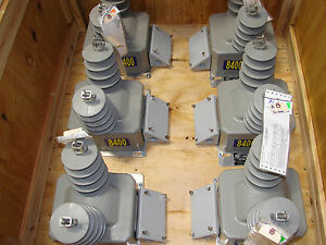 new Abb Outdoor Voltage Transformer Voz 11e 70 1 E 7881a94g07 qty 6