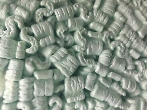 Packing Peanuts Shipping Green 24 Cubic Feet Anti Static Loose