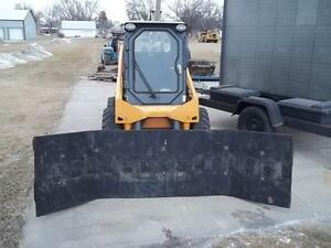 New 10 Ft Snow Pusher Plow Extreme Duty Rubber Blade nt100014 make To Order