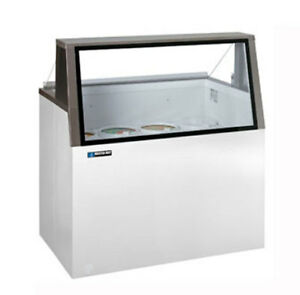 Master bilt Dd 66l Ice Cream Dipping Cabinet 12 Flavor Low Glass 16 Cu ft