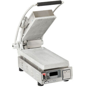 Star Pgt7e Pro max 9 5 Panini Grill Grooved Aluminum Plate W Timer