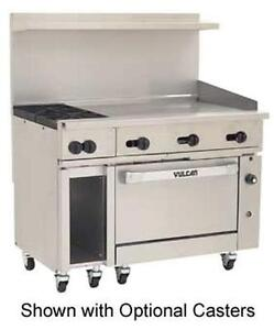 Vulcan 48s 2b36g Endurance Range 48 2 Burner 36 Manual Griddle With Oven