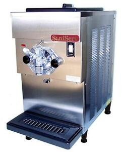 Saniserv 408 20 Qt Soft Serve Ice Cream Yogurt Machine 1 Flavor