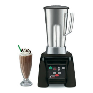 Waring Mx1100xts Blender 3hp Hi power W Timer 64oz Stainless Jar
