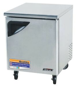 Turbo Air 28in Undercounter Refrigerator Cooler Tur 28sd