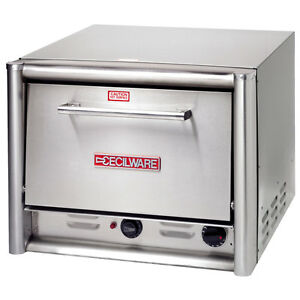 Gmcw Po18 Pizza Oven Counter Top Electric 2 Decks Fits 16 Pizza