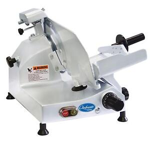 Globe C9 9 Chefmate Electric Manual Food Slicer Light Duty 25 Hp