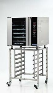 Moffat E32d5 sk32 Electric Convection Oven Full Size 5 Pan W Mobile Stand