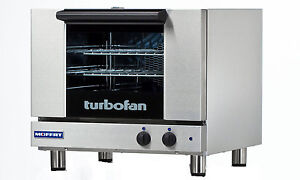 Moffat E22m3 Turbofan Electric Convection Oven 3 Half Size Pan Manual
