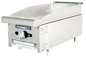 Radiance Tamg 12 12 Counter Top Gas Flat Commercial Griddle Manual Controls
