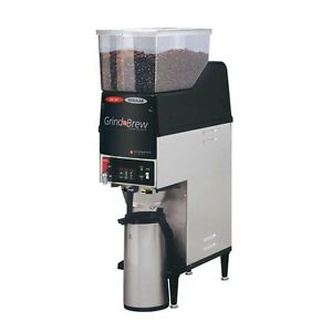 Gmcw Gnb 20h Dual Bean Airpot Grind n Brew Automatic Coffee Brewer 120v