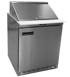 Delfield 4432n 12m 32 Refrigerated Mega Top Salad Prep Table Cooler W 12 Pans