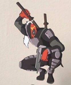 Deathstroke Slade Wilson Dc Vinyl Sticker Decal Custom
